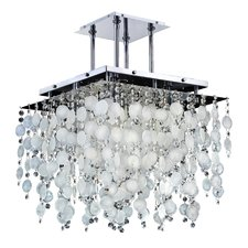 cityscape-capiz-shell-5-light-crystal-chandelier Capiz Shell Chandeliers