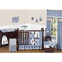 come-sail-away-sweet-jo-jo-designs-anchor-baby-boy-bedding Anchor Bedding Sets and Anchor Comforter Sets
