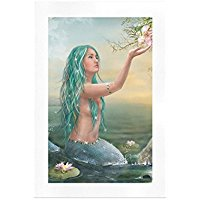 custom-wall-art-beauty-mermaid Mermaid Wall Art and Mermaid Wall Decor