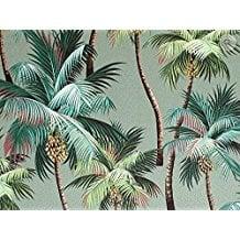 dean-miller-surf-bedding-palm-tree-green 50+ Surf Bedding and Surf Comforter Sets