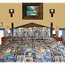 dean-miller-surf-bedding-sunset-beach-set Surf Decor & Surfboard Decorations