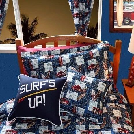 dean-miller-surf-bedding-tropical-bedding-set-tapa-town Surf Bedding Sets & Surf Comforter Sets