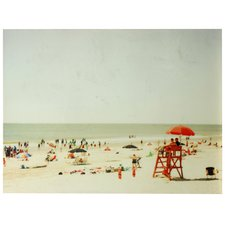 filtered-day-at-the-beach-painting-on-canvas Beach Paintings and Coastal Paintings