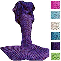 fu-store-handmade-knitted-mermaid-tail Mermaid Bedding Sets & Comforter Sets
