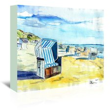 german-island-beach-painting-on-canvas Beach Paintings and Coastal Paintings