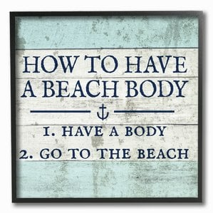 Best Wooden Beach Signs Beachfront Decor