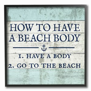 how-to-have-a-beach-body-wooden-sign The Best Wooden Beach Signs You Can Buy