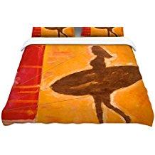 kess-in-house-she-surfs-duvet-cover Surf Bedding Sets & Surf Comforter Sets