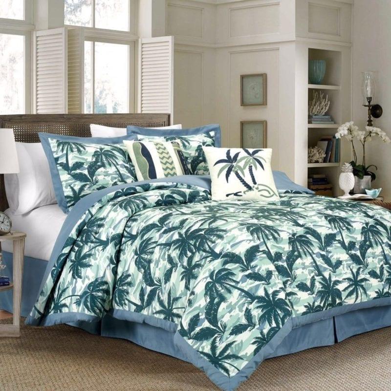 kona-palm-tree-surfboard-comforter-set-800x800 50+ Surf Bedding and Surf Comforter Sets
