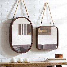 mercury-row-hanging-wall-mirror Rope Mirrors and Rope Hanging Mirrors