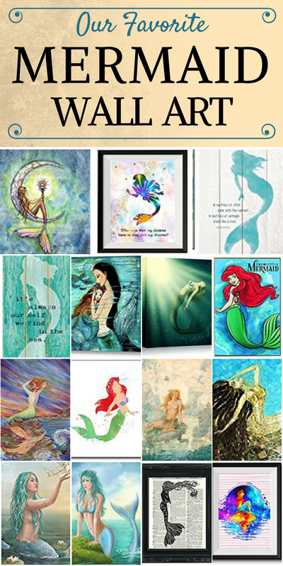 mermaid-art-1 Mermaid Wall Art and Mermaid Wall Decor