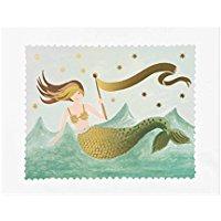 mermaid-art-print-rifle-paper-company Mermaid Wall Art and Mermaid Wall Decor