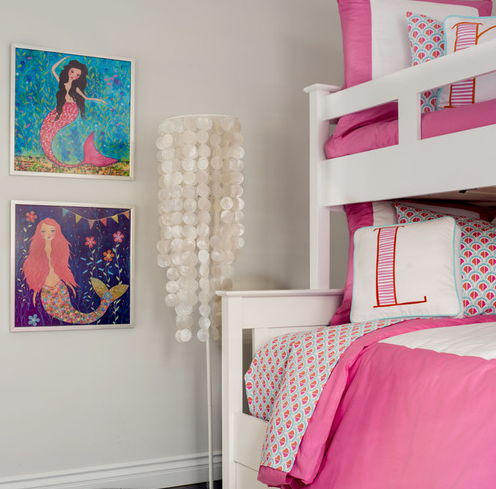 mermaid-beach-glam-bungalow Mermaid Bedding Sets and Mermaid Comforter Sets