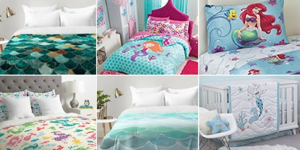 Best Mermaid Bedding and Comforter Sets