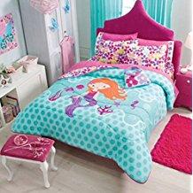 mermaid-reversible-comforter-set Mermaid Bedding Sets and Mermaid Comforter Sets