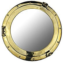 nautical-porthole-mirror Porthole Themed Mirrors