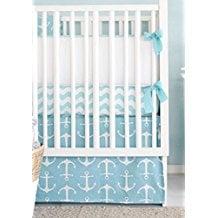 new-arrivals-aqua-crib-bed-anchor Anchor Bedding Sets and Anchor Comforter Sets