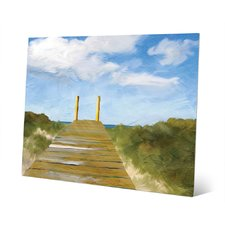 path-to-the-beach-abstract-painting Beach Paintings and Coastal Paintings