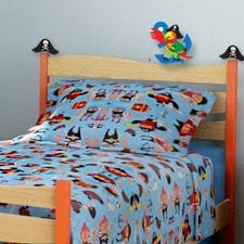 pirate-pals-3pc-toddler-bedding-set Pirate Bedding Sets and Pirate Comforter Sets