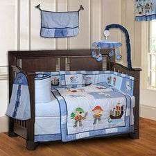 pirates-baby-10-piece-crib-bedding-set Pirate Bedding Sets and Pirate Comforter Sets