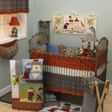 pirates-cove-10-piece-crib-bedding-set Nautical Crib Bedding and Beach Crib Bedding