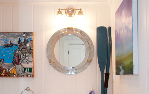 provincetown-beach-house-2 100+ Porthole Themed Mirrors For Nautical Homes For 2020