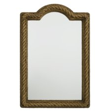 rectangular-natural-rope-wall-mirror Rope Mirrors and Rope Hanging Mirrors