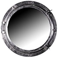 resin-porthole-mirror Porthole Themed Mirrors