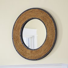round-rope-mirror-by-birch-lane Rope Mirrors and Rope Hanging Mirrors