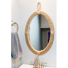 round-rope-mirror-nautical-breakwater-bay Rope Mirrors and Rope Hanging Mirrors
