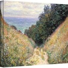 sandy-beach-footpath-painting-on-canvas Beach Paintings and Coastal Paintings