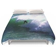 society6-big-surf-duvet-cover 50+ Surf Bedding and Surf Comforter Sets