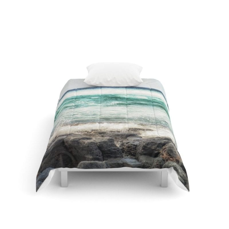 society6-surf-square-comforter-800x800 50+ Surf Bedding and Surf Comforter Sets