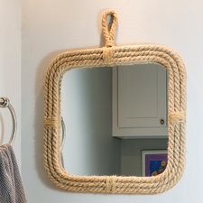 stonebriar-square-rope-mirror Rope Mirrors and Rope Hanging Mirrors