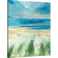 summer-sea-and-beach-painting-print Beach Wall Decor