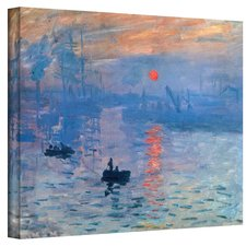 sunrise-painting-over-water-print-on-canvas Beach Paintings and Coastal Paintings