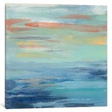 sunset-beach-painting-on-canvas Beach Paintings and Coastal Paintings