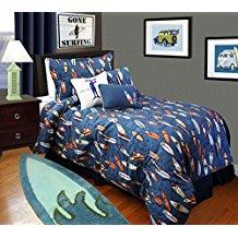 surfboard-bedding-for-boys Surf Bedding Sets & Surf Comforter Sets