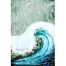 the-great-wave-painting Beach Paintings and Coastal Paintings