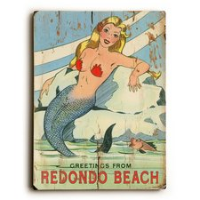 vintage-mermaid-advertisement Mermaid Wall Art and Mermaid Wall Decor