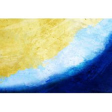 waves-painting-print-on-canvas Beach Paintings and Coastal Paintings