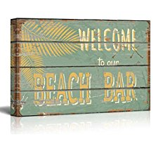 welcome-to-our-beach-bar-wooden-sign The Best Wooden Beach Signs You Can Buy
