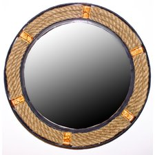 wilco-home-decor-rope-mirror Rope Mirrors and Rope Hanging Mirrors