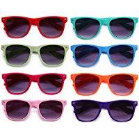 8-Pack-Blue-Brothers-Horned-Rimmed-Wayfarer-Fashion-All-Colors Sunglasses Wedding Favors