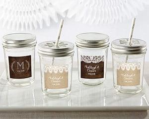 Personalized-Rustic-Charm-Wedding-Mason-Jar Mason Jar Wedding Favors
