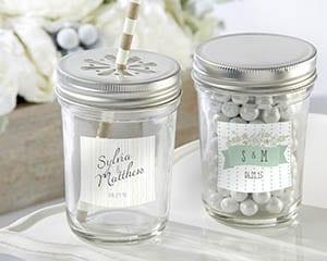 Personalized-Rustic-Wedding-Glass-Mason-Jar Mason Jar Wedding Favors