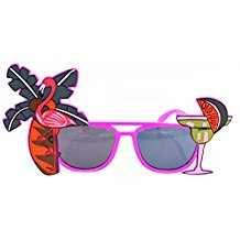 Tinksky-2pcs-Luau-Party-Supply-Sunglasses-Hawaii-Themed Sunglasses Wedding Favors