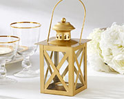 classic-gold-lantern Candle Wedding Favors