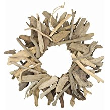 driftwood-wreath-18 70+ Beach Christmas Wreaths and Nautical Wreaths