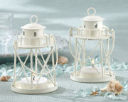 lighthouse-tea-light-holder Candle Wedding Favors